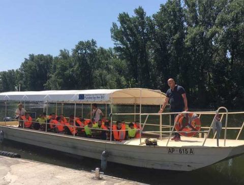 Brodić Apatinka - raspored vožnji za jul